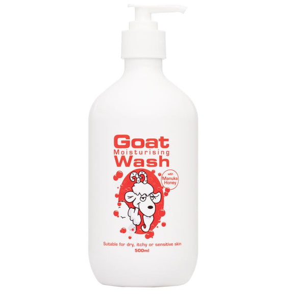 Goat Body Wash with Manuka Honey 500ml