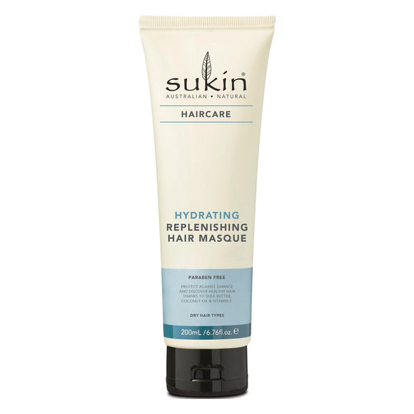Sukin Hydrating Replenishing Hair Masque 200 mL