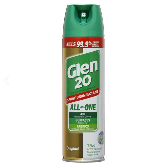 Glen 20 Surface Spray Disinfectant Original 175g