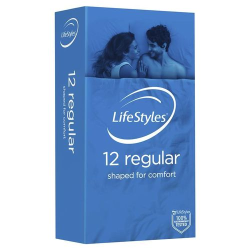 Ansell Lifestyle Condoms Regular 12pack