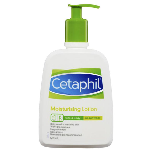 Cetaphil Moisturising Lotion 500mL Pump Pack