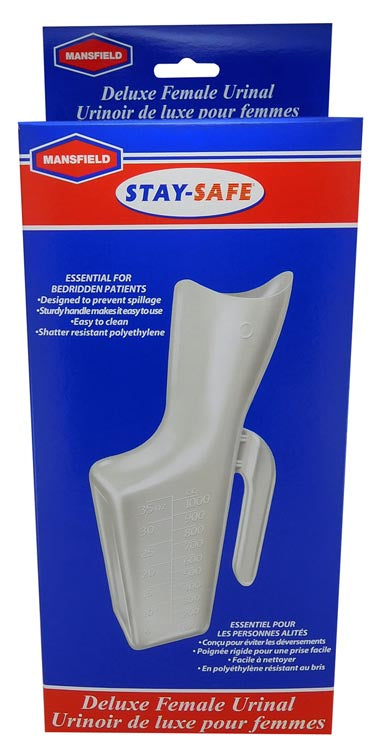 Mansfield Stay-safe Deluxe Female Urinal