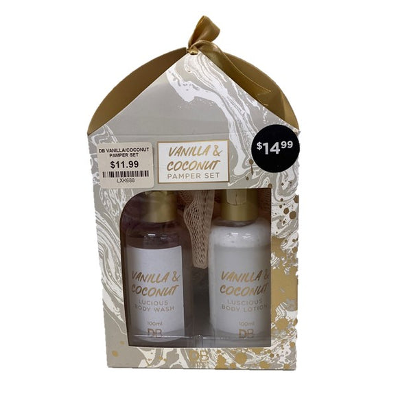 DB Vanilla/Coconut Pamper Set