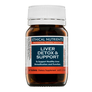 Ethical Nutrients Liver Detox & Support Tab 30