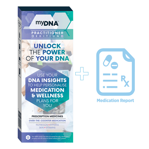myDNA Practitioner Pack (with medication report)