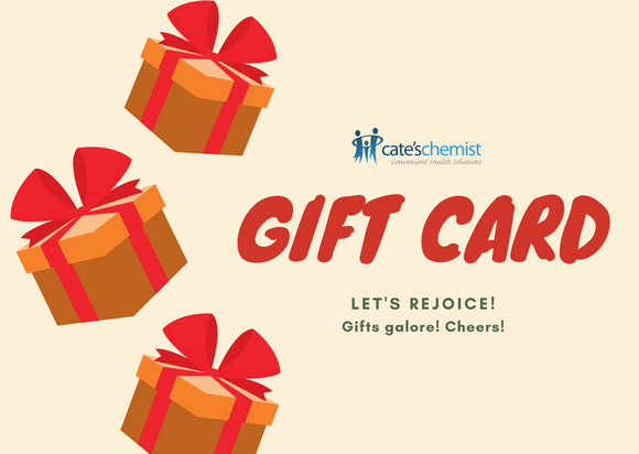 Cate's Chemist Gift Card