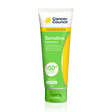 Cancer Council Sensitive Tube 110ml