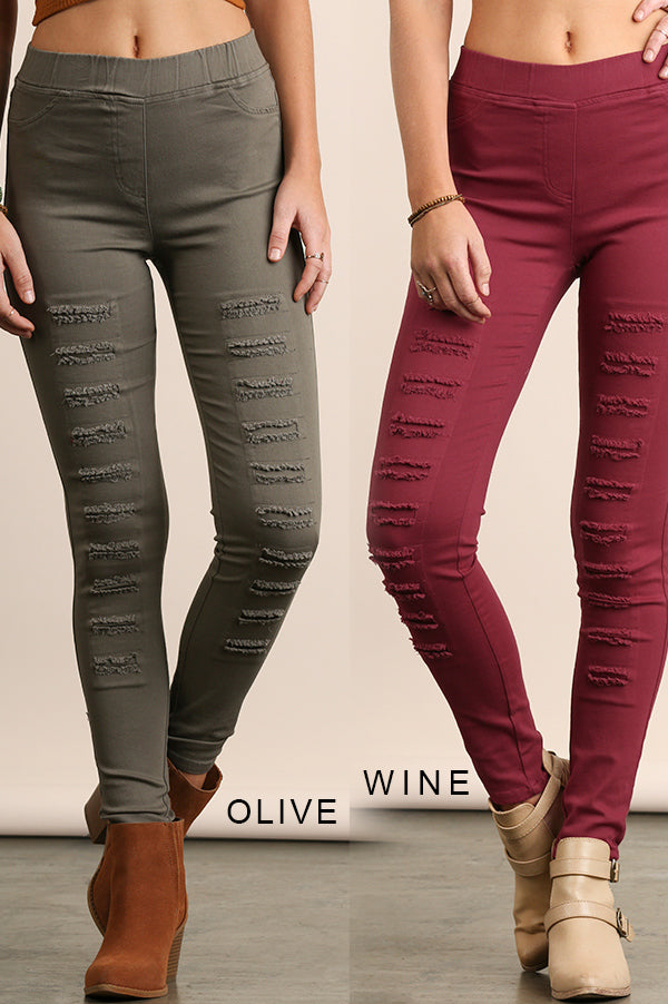 Riley distressed Jeggings