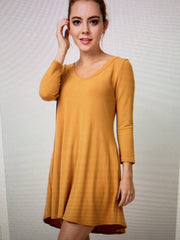 Golden Pocket Dress