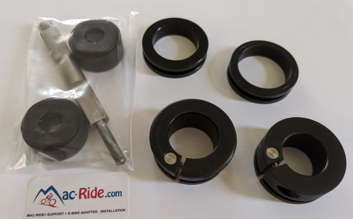 Extra Spacers, Front Mounts, E-Bike Adapters