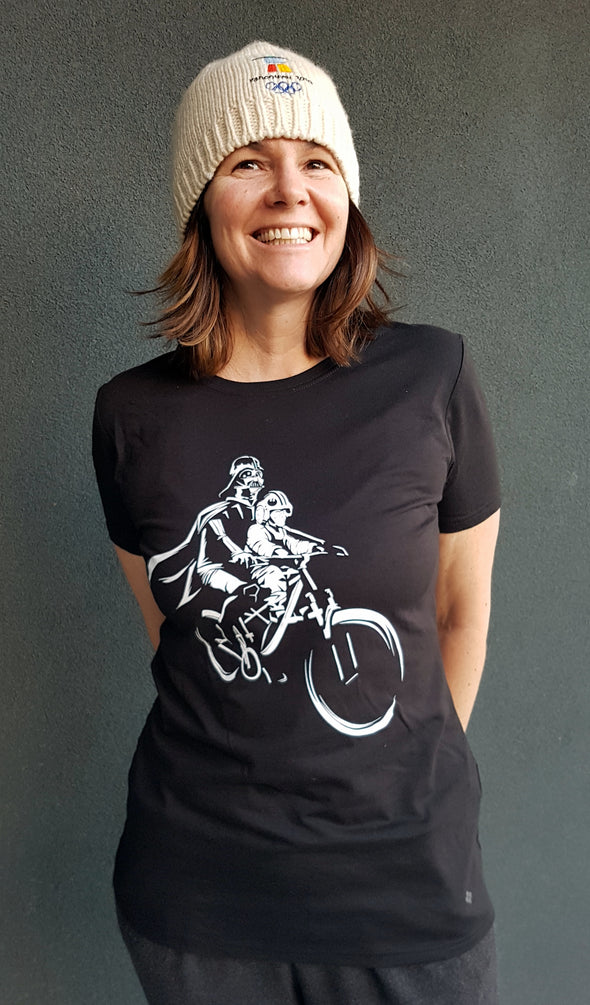 WOMEN'S Darth and Luke Mac Ride - Short Sleeve T-Shirt