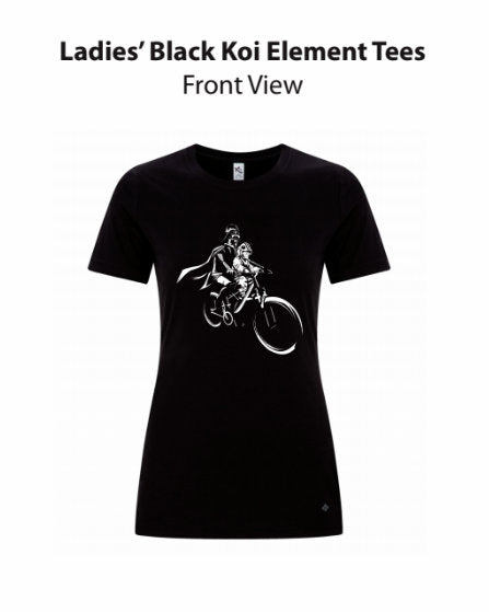 Darth & Luke Mac Ride - WOMEN'S Short Sleeve T-Shirt