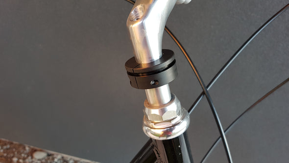 "Quill Stem Mounting Bracket Adapter (7/8"" and 1"" option for cruisers or older bikes)"
