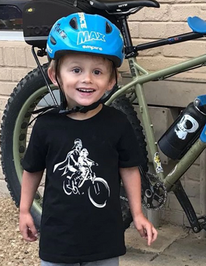CHILD LUKE and Darth Mac Ride - Short Sleeve T-Shirts