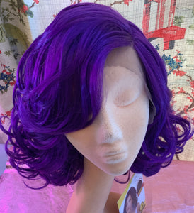 Reagan Lace Front Grape