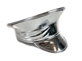 Silver Police Hat