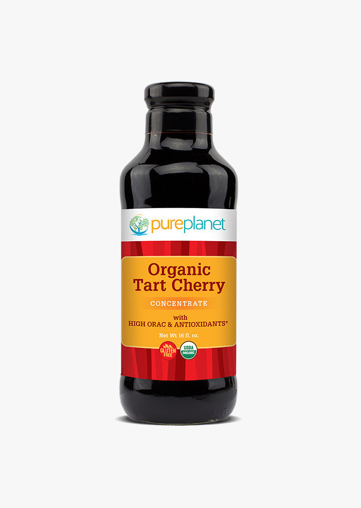 Organic tart cherry juice not from concentrate