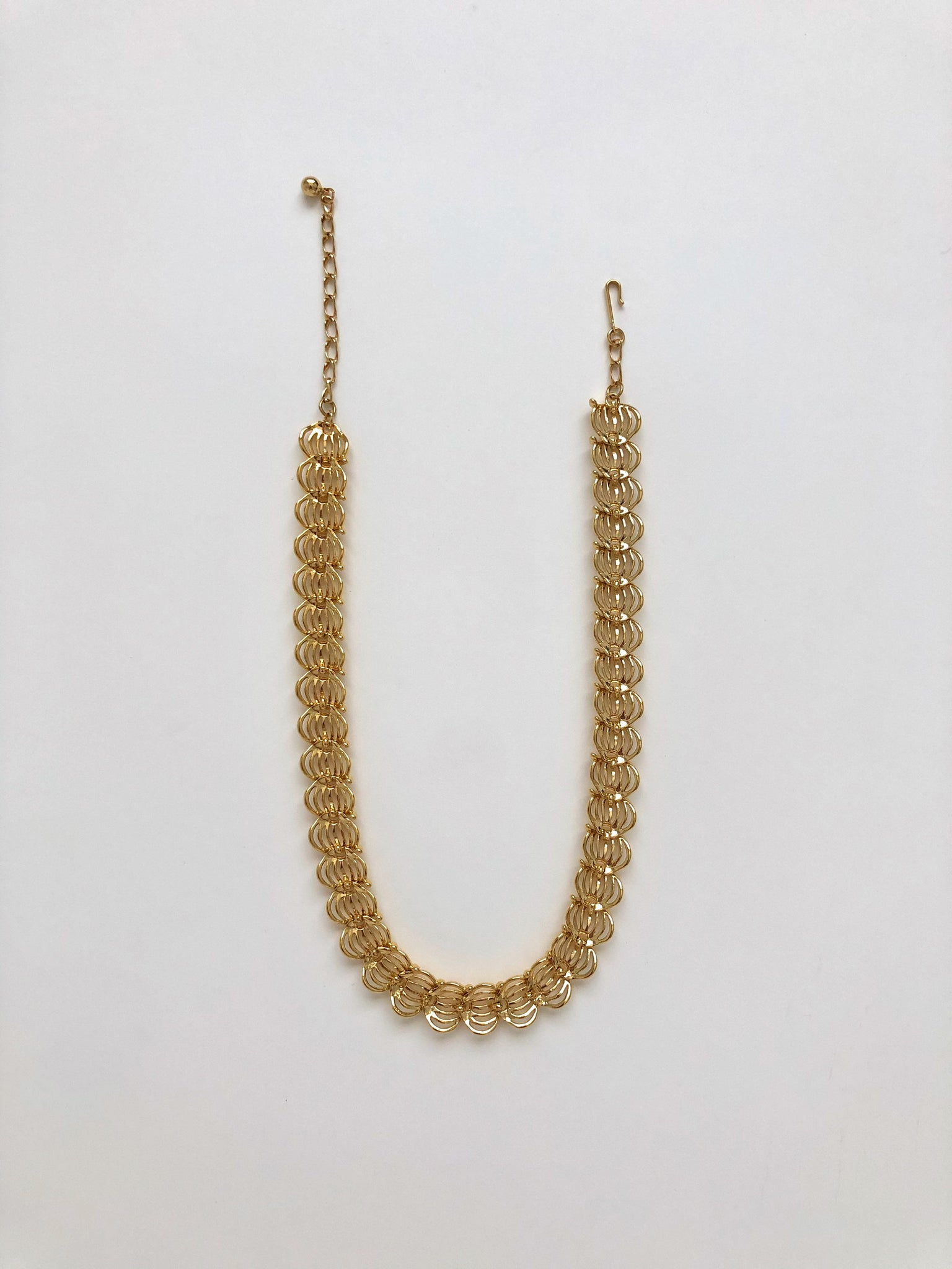 "Vintage 17.5"" Gold-Tone Necklace"