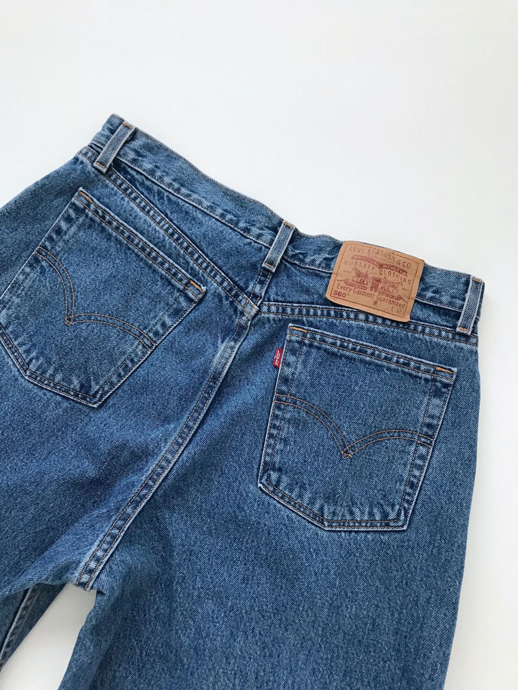 Women's Vintage Levi's 560 Cotton Denim Jeans | 34 Inch Waist | Canary Club Vintage