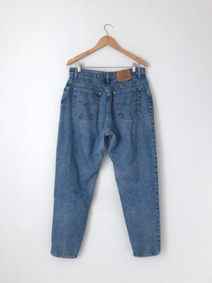 Women's Vintage 80s Levi's 16551-0291 Cotton Denim Jeans by Levi's | 34 Inch Waist | Canary Club Vintage