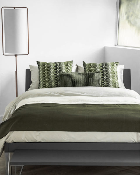 Fall style Olive color bedding