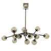SAVOY ANTIQUE BRASS CHANDELIER
