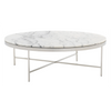 VIENNA LARGE ROUND MARBLE COCKTAIL TABLE