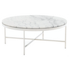 VIENNA ROUND MARBLE COCKTAIL TABLE