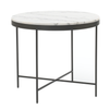 VIENNA ROUND MARBLE SIDE TABLE