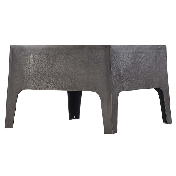 ARMSTRONG METAL SIDE TABLE