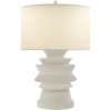 STACKED DISK TABLE LAMP