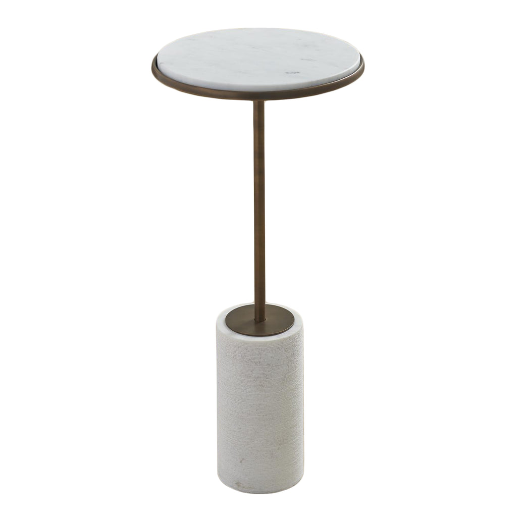 CORED MARBLE TABLE