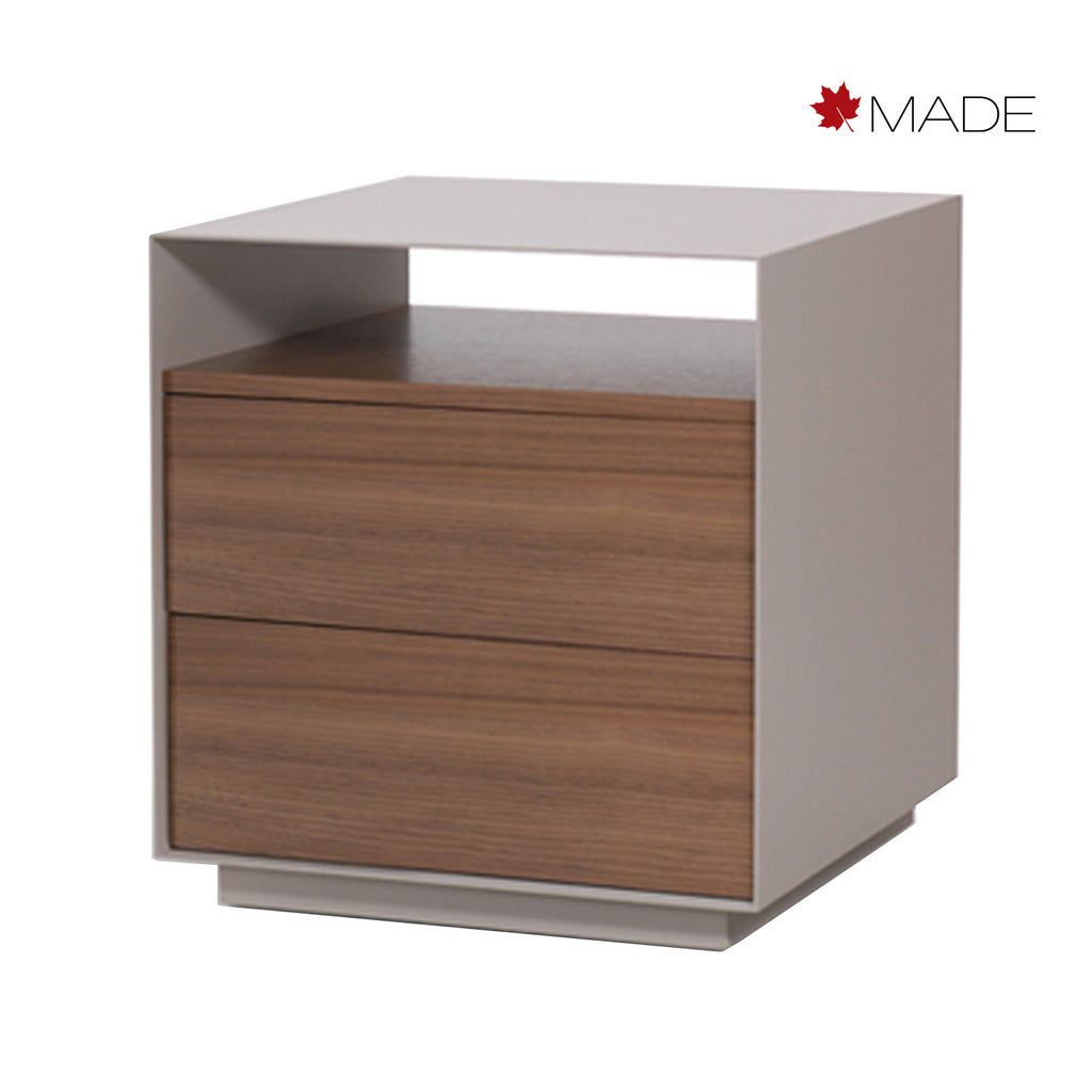 BOULEVARD 2 DRAWER NIGHT STAND