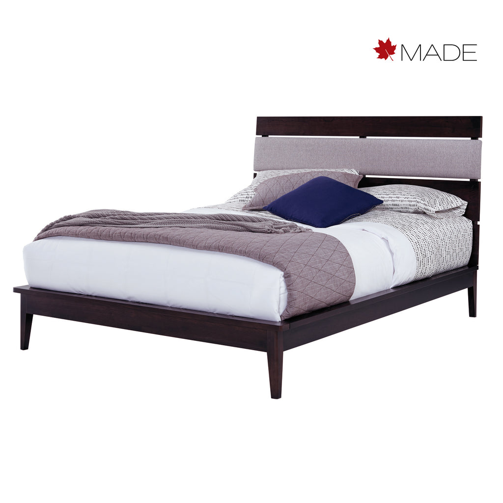 CAMBER UPHOLSTERED HEADBOARD BED