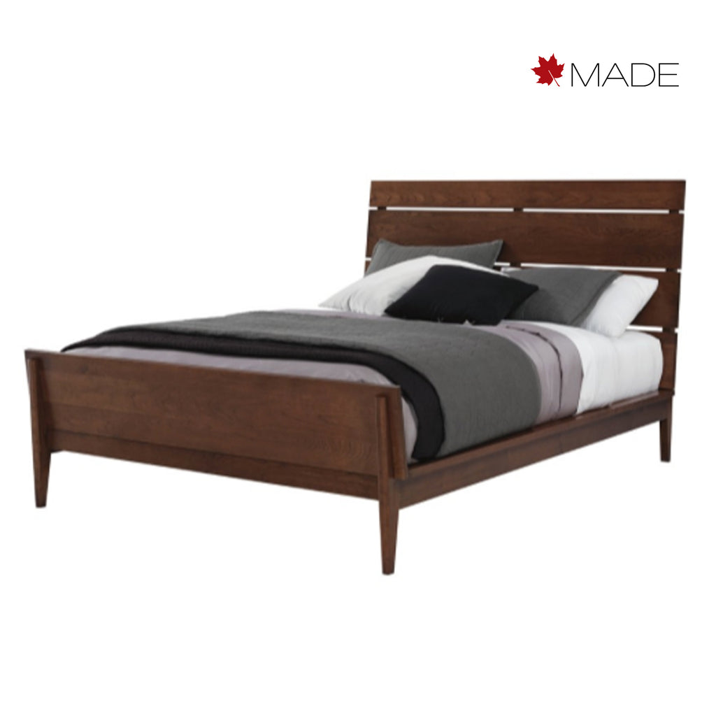 Camber Wood Headboard Bed Once A Tree Furniture