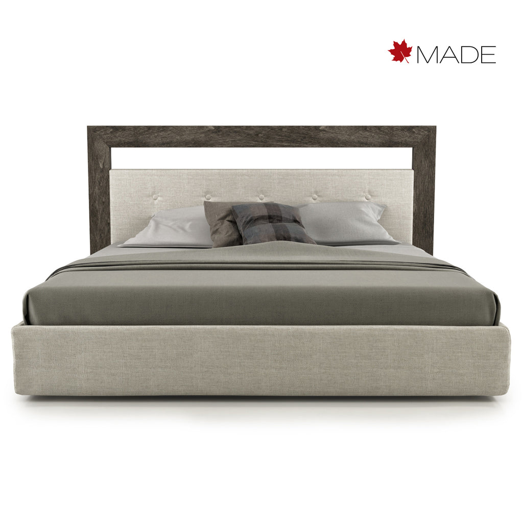CLOE UPHOLSTERED PLATFORM BED