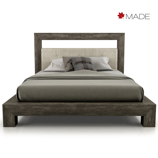 CLOE UPHOLSTERED HEADBOARD BED