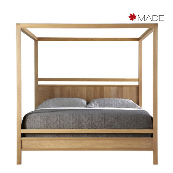 FULTON WOOD PANEL POSTER BED