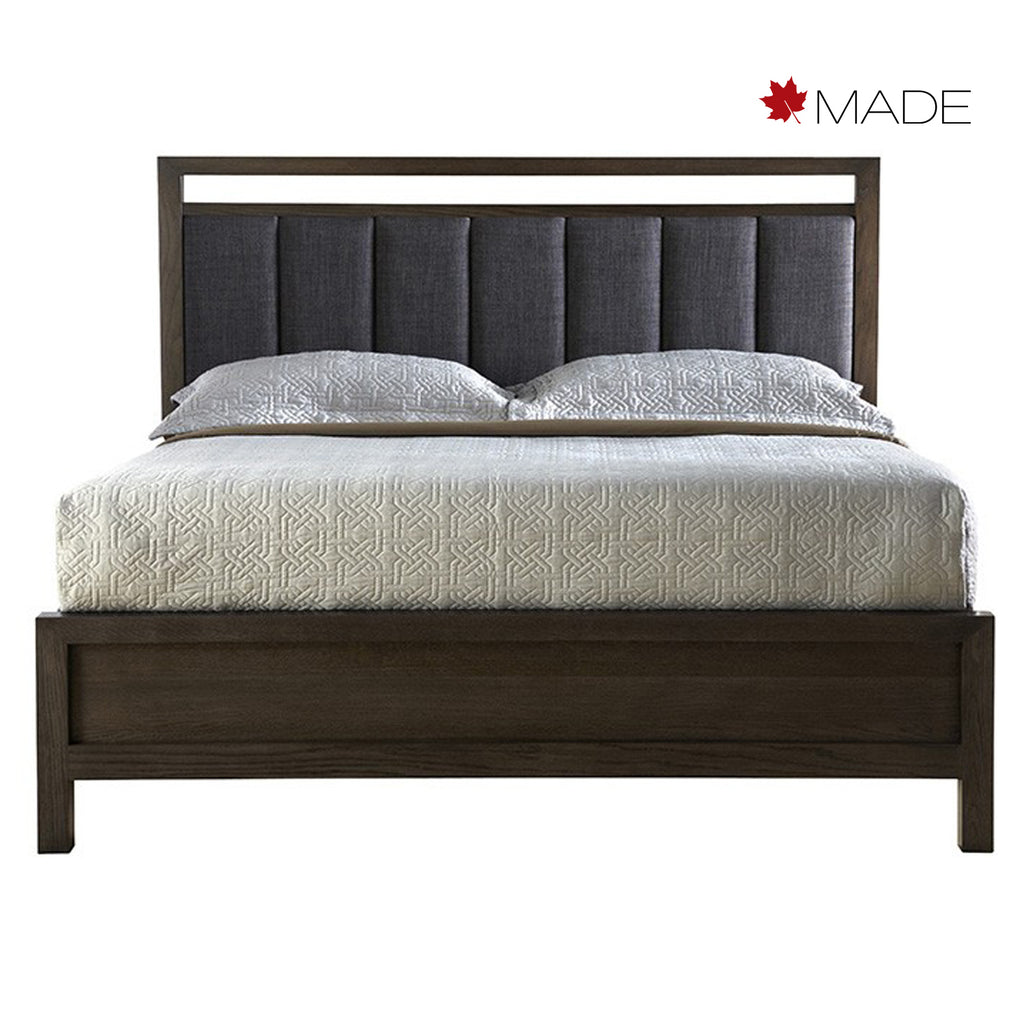 FULTON UPHOLSTERED PANEL BED
