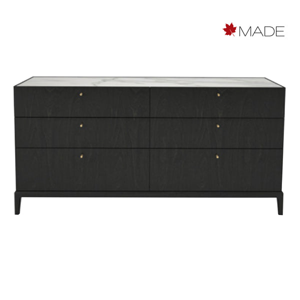 HEMRIK 6 DRAWER DRESSER