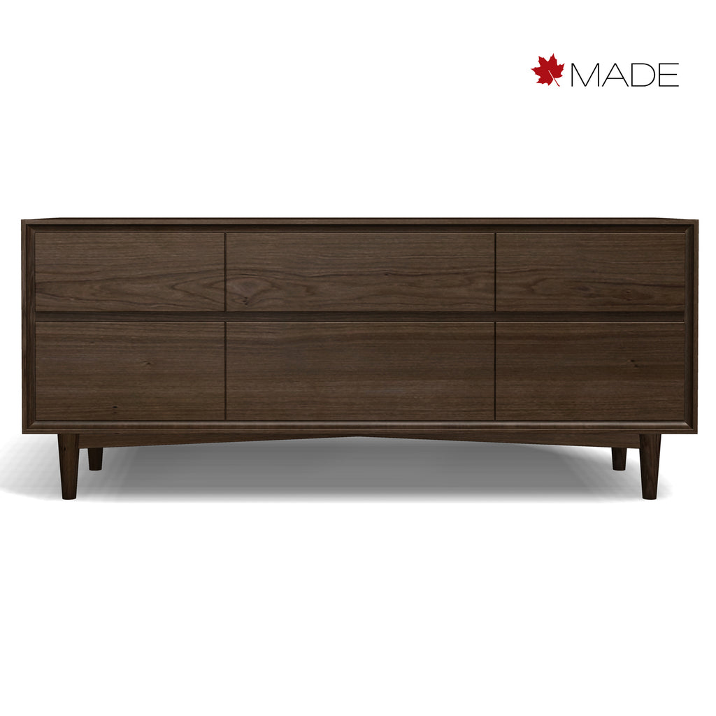 JENSEN 6 DRAWER DRESSER