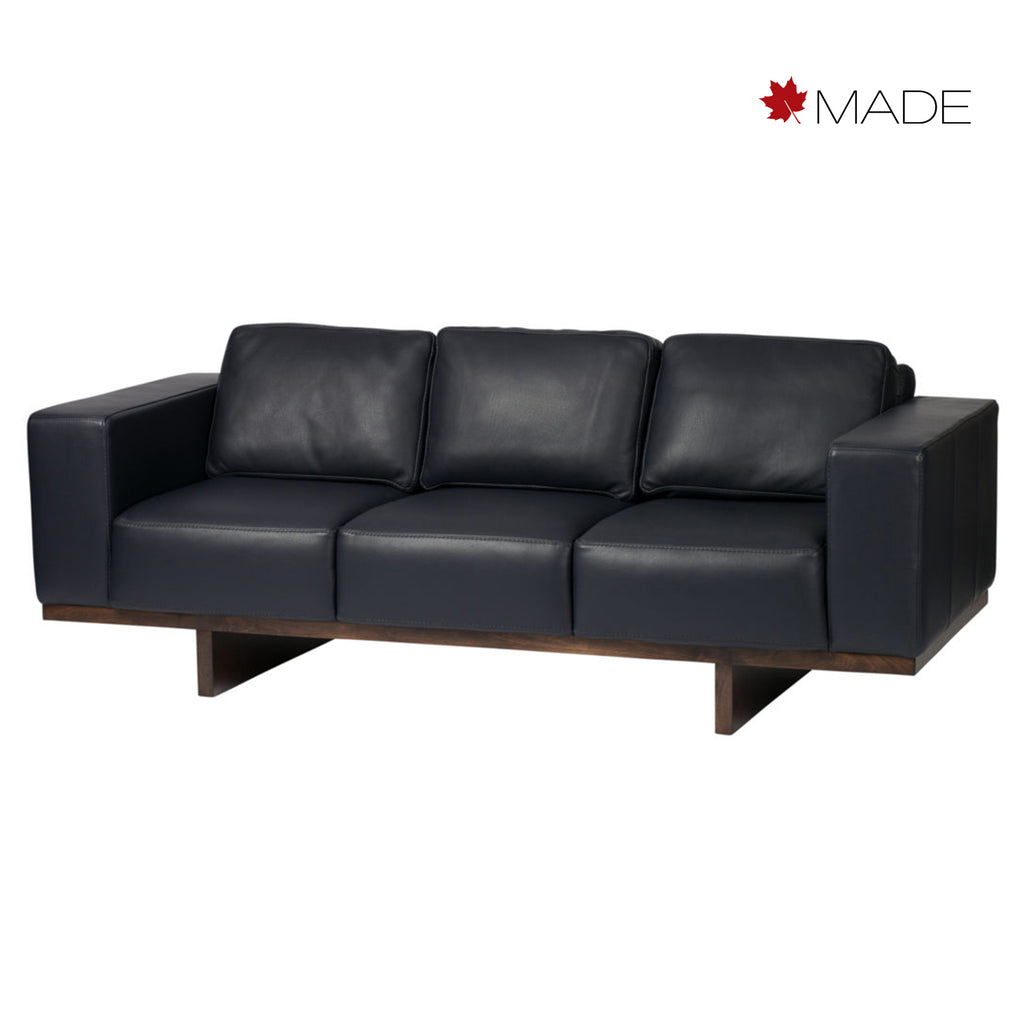 Miller 3 seat sofa in leather