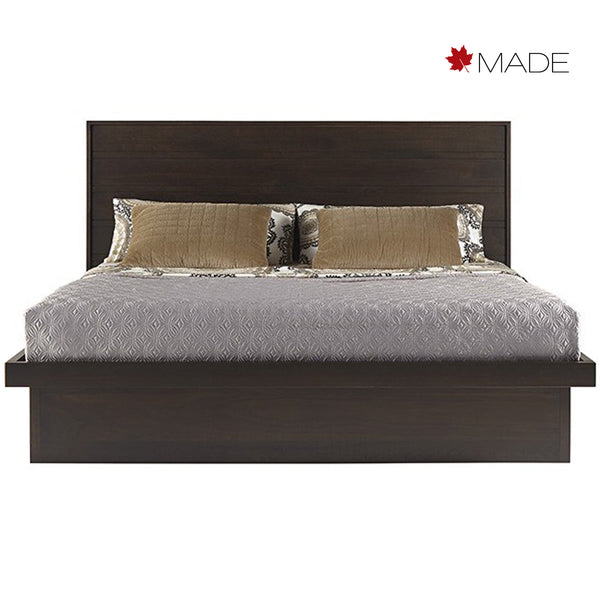 SERRA WOOD PANEL BED WITH DRAWERS