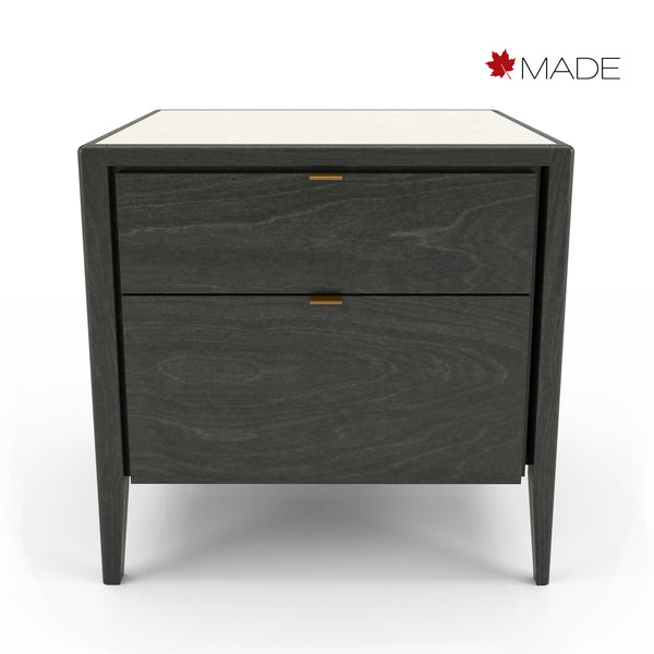 WINSTON 2 DRAWER NIGHT TABLE