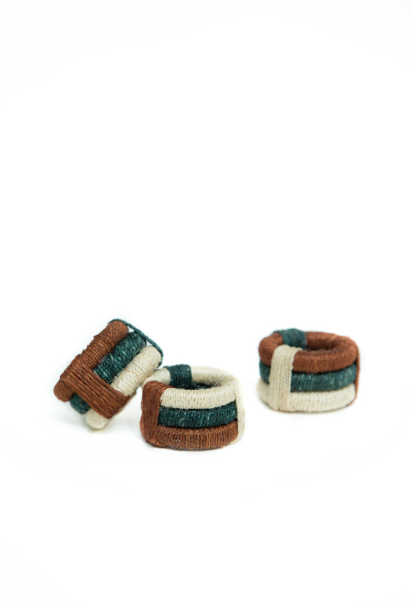 Sisal napkin rings - Set of two