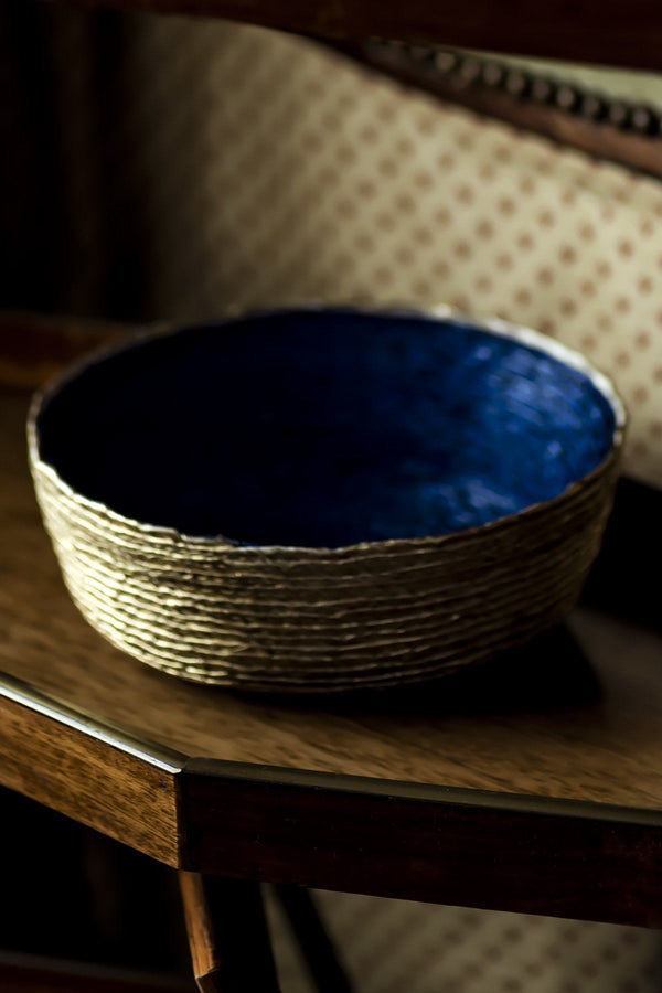 Festive Small Round Baskets