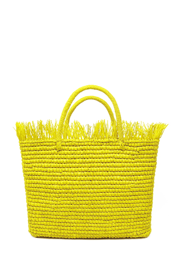 Canasta mejicana baby bag - yellow