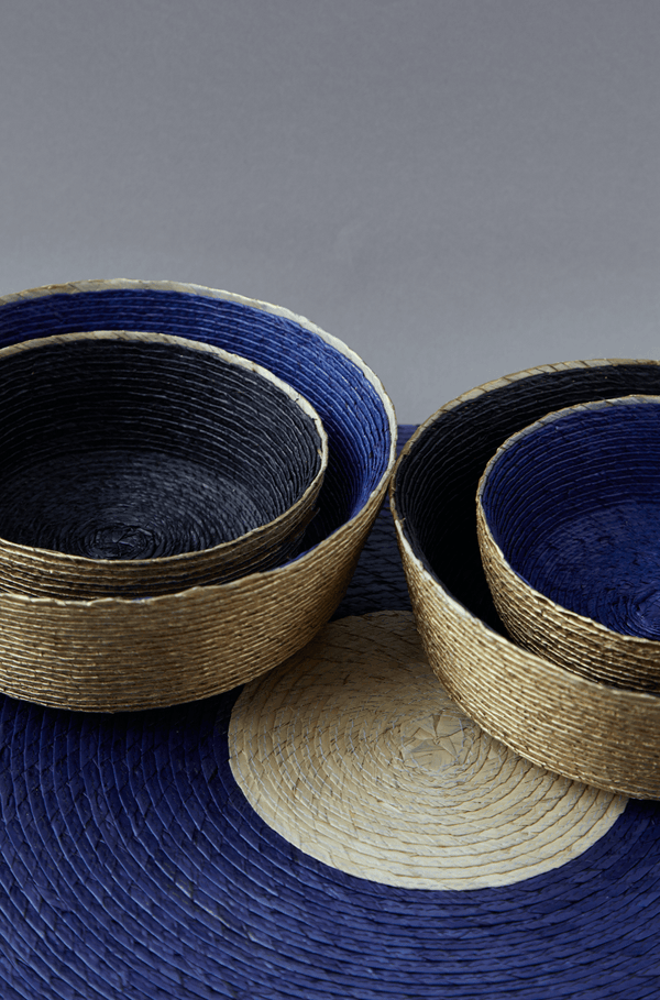 Festive Medium Round Baskets