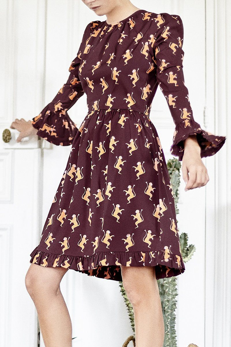 Amazon Monkey dress