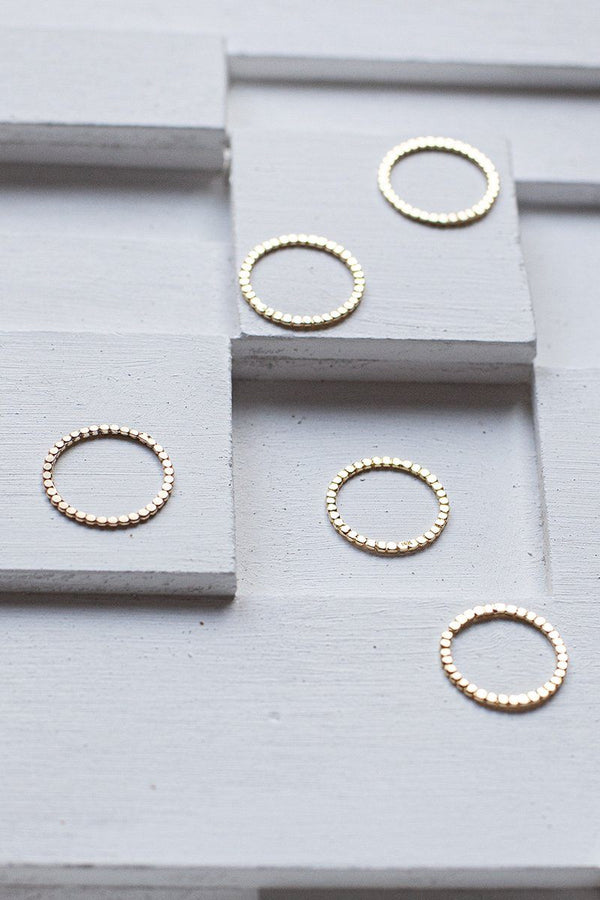 IT thin ring - 14K Gold